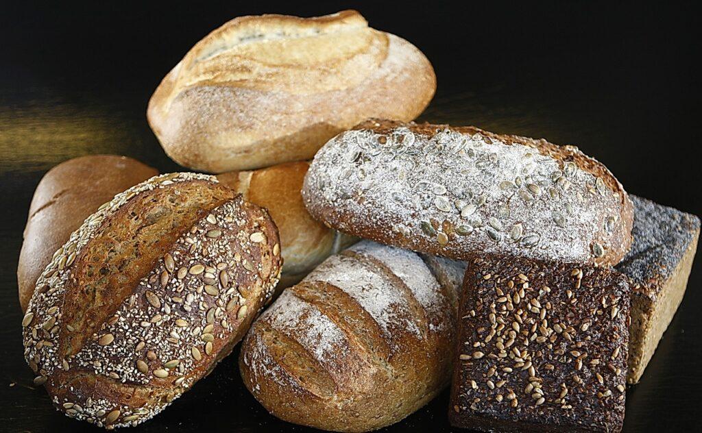 bread, food, grainy bread